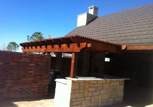 Custom Pergola Patio Deck Outdoor Living Abilene Texas